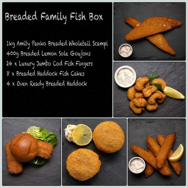 Breaded Fish Box | Amity Fish Company