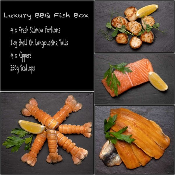 Luxury BBQ Fish Box | Amity Fish Company