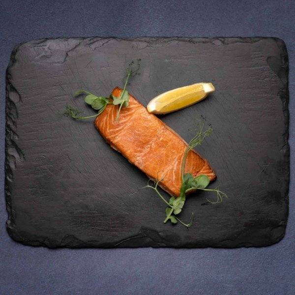 Hot Smoked Salmon by Amity Fish Company
