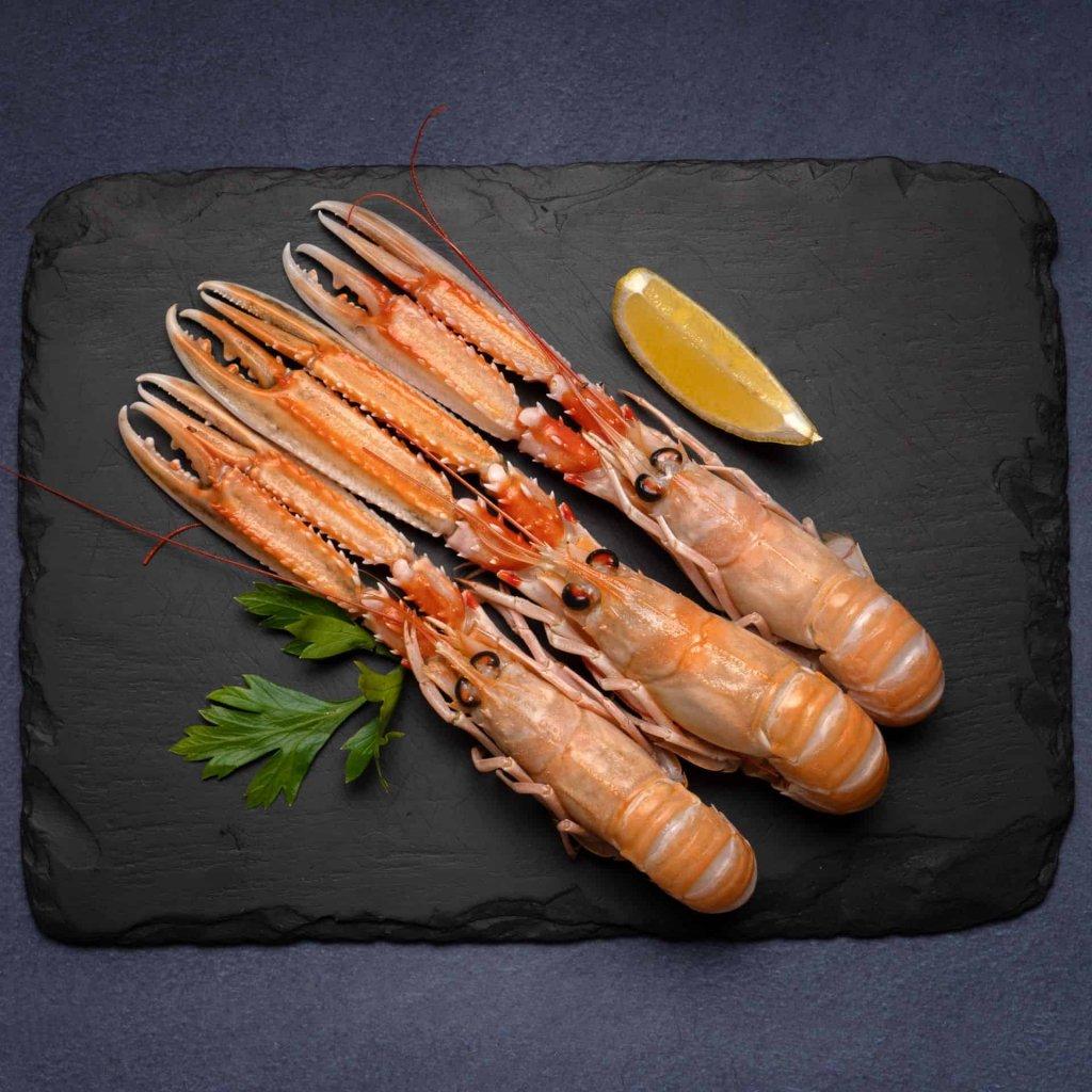 Scottish whole langoustine | Amity Fish Company