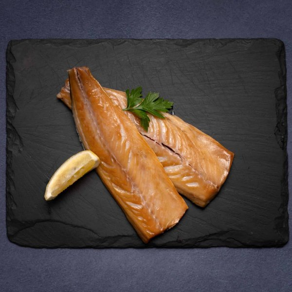 Hot smoked mackerel from Amity Fish Company