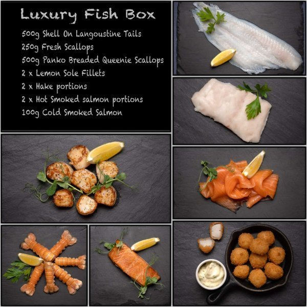 Luxury Scottish Fish Box | Amity Fish Company