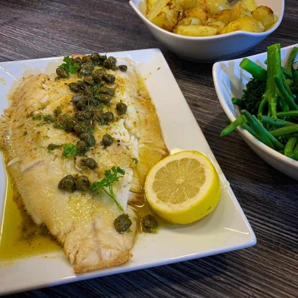 https://www.documentingmydinner.com/2020/10/11/whole-roasted-lemon-sole-with-caper-parsley-and-lemon-butter/