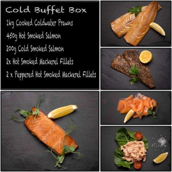 Cold Buffet Fish Box | Amity Fish Company