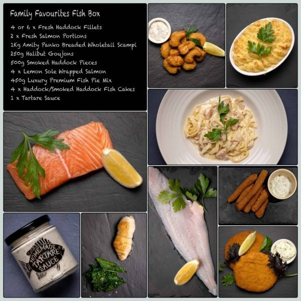 Family Favourites Fish Box | Amity Fish Company
