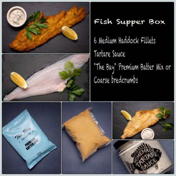 Fish Supper Box from Amity Fish Company