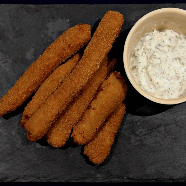 Breaded Halibut Goujons