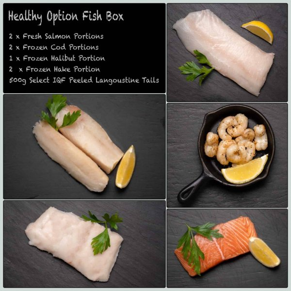Healthy Option Fish Box | Amity Fish Company