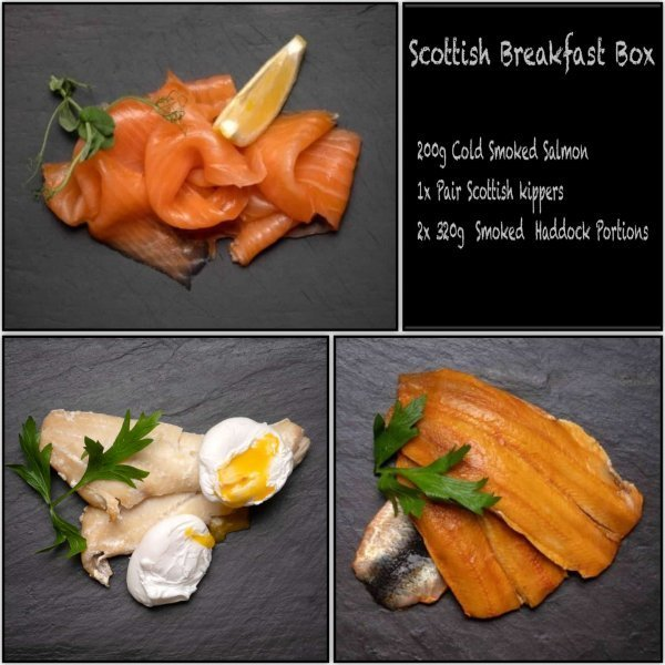 Scottish Breakfast Fish Box from Amity Fish, Aberdeenshire