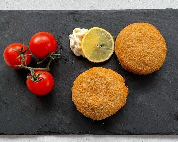 Breaded Haddock Fish Cakes | Amity Fish Company