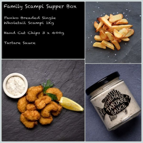 Amity Fish Company | Scampi Supper Box