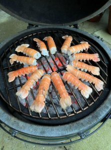 BBQ Shell On Langoustine Tails